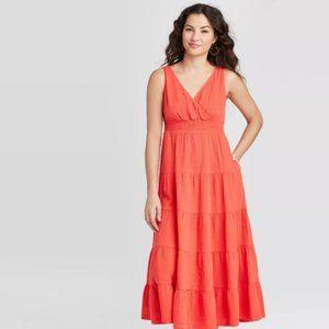 Universal Thread Sleeveless Tiered Dress (Size M)